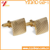 Mancuerna personalizada de moda de oro para recuerdos (YB-cUL-05)