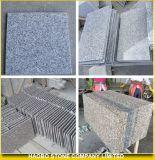 安い灰色の花こう岩の床はタイルを薄くする