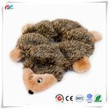 정신이 이상한 6 Squeaker 견면 벨벳 개 장난감, Hedgehog