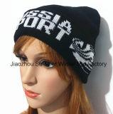 Recevoir la quantité de commande minimum, chapeau tricoté brodé de Beanie de chapeau