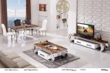 Mesa de centro superior de Marble e de Fashion Stainless Steel