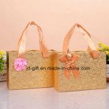 Custom подарок моды Gold лоток для бумаги косметики или ювелирные украшения и конфеты