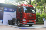 FAWの解放J6pの大型トラックのパイロット南アジアの市場が付いている南バージョン460馬力6X4トラクター