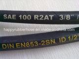 Flexibler hydraulischer Hochdruckschlauch LÄRM en-853 R2 2sn