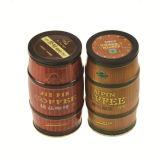 La polvere del cioccolato di Tablea mescola il contenitore di stagno del pacchetto