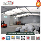 Estrutura de cubos tenda insuflável tenda para o depósito e armazenamento