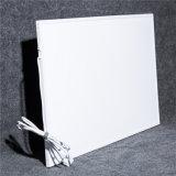 Panneau en cristal de chauffage IR d'animal familier de carbone blanc fixé au mur économiseur d'énergie de surface