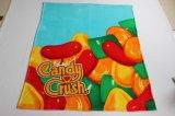 キャンデーのクラッシュ/赤ん坊毛布が付いている極度の柔らかいフランネル毛布