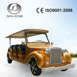 Ce/ISO9001 langsamer 12 Seater elektrischer Hotel-Doppelventilkegel-Bus
