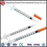 Profesional de China la fabricación de jeringas de insulina de 0,5 ml