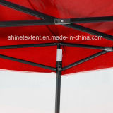 ترويجيّ عرض [غزبو] ظلة خيمة خارجيّة يفرقع يعلن فوق شاطئ خيمة