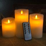 Nueva vela móvil teledirigida de la llama del parpadeo exquisito que viene