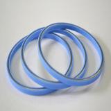Selos energizados com mola de fibra de vidro cheia de teflon / PTFE