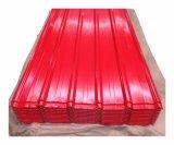 Strato ondulato Ral5015 del tetto dello zinco verniciato colore