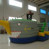 Castello gonfiabile della nave di pirata