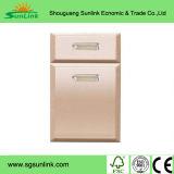 Portelli degli armadi da cucina di legno solido in Shandong Shouguang