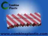 Rote Farbe Belüftung-Schaumgummi-Blatt für Möbel, Dekoration, Schrank