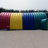 تصميم جديدة غنيّ بالألوان قابل للنفخ [أفرتيسنغ] خيمة لأنّ إعلان