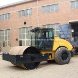 Compactador monocilindro de 14 toneladas de peso con A / C cabina