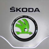 Concessionnaire automobile extérieur annonçant le Signage de logo de véhicule pour Skoda