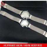 Vs-499 Novo Fashion assistir a banda de correia de malha de aço inoxidável homens Relógios de quartzo Relógios de pulso promocional