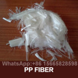 Uso concreto de fibra de malla de polipropileno