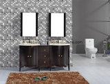 """36 """" vanità stabilite della stanza da bagno di legno solido di /White di vanità della stanza da bagno del Singolo-Dispersore"""