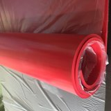 Uno strato di gomma rosso da 1/16 di pollice con ISO9001: 2000