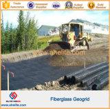 La alta calidad 40X40kn la fibra de vidrio de geomalla pendiente para la protección y la construcción de carreteras