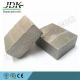 Jdkのダイヤモンドセグメント砂岩セグメント花こう岩セグメント