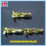Brass (HS-DZ-0046)の工場Solder Crimp Terminal Pins