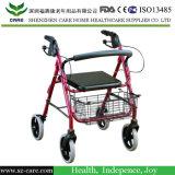 Алюминиевый складывая ходок /Walker Rollator Rollator для инвалид