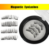 3D Eyelash Extensions магнитных ресниц макияж многоразовые ложных магнит ударам плетью добавочный номер