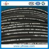 Mangueira de borracha hidráulica do petróleo de En853 2sn