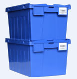 Contenitori di memoria logistici di plastica resistenti da vendere