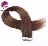 100%のブラジルの等級8Aテープ毛の拡張人間の毛髪