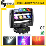 10W*8piece CREE Moving Head DEL Stage Lighting (HL-015YT)