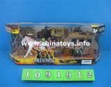 プラスチックおもちゃ野生の西力のおもちゃの組合せのおもちゃ(1091912)