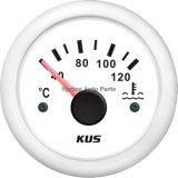 Compteur de température de température d'eau de 2 po 52 mm Cptr-40-120 avec capteur de température pour bateaux à moteur