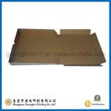 Голубым напечатанная цветом бумажная Corrugated складная коробка пиццы
