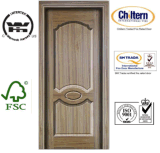 Tür-Häute mit Teakholz-Furnier-Blattmaterial
