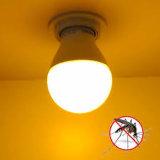 Cosa repellente gialla della zanzara della lampadina di A60 9W 550-580nm Rg0 LED con l'amo per accamparsi