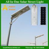 Installazione facile 5W-120W tutto in un indicatore luminoso di via solare Integrated