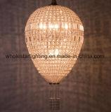 Carystal ovale Ei-Leuchter-Lampe (WHG-716)