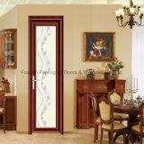 Застекленная двойником стеклянным термально дверь изолированная проломом алюминиевая (FT-D70)