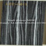 Alto MDF UV lucido di Lcc di disegno di legno moderno (LCC-1009)