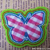 Broderie personnalisée en usine Fashion Butterfly de correctifs pour la décoration d'accessoires du vêtement