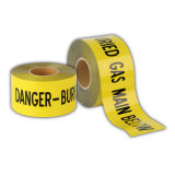 赤い緑の黄色く青い危険の警告テープトラフィックのバリケードテープ