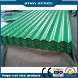 屋根のためのPPGL Prepainted Galvalumeの台形波形の鋼板
