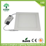 3W 6W 9W 12W 15W 18W 20W 24W 85V-265V super delgada Panel LED Lámpara de luz